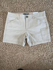 EDDIE BAUER Women's Slightly Curvy Walking Shorts Size 8 NWT