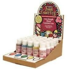 LorAnn Extra Strength Liquid Food Color 1 oz. bottles - You Pick 6 Colors