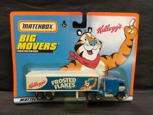 1998 Matchbox Big Movers Frosted Flakes Tony the Tiger  Tractor Trailer MOC!