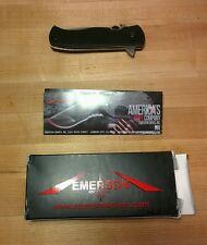 Emerson Flipper 7 CQC-7F Folding Knife S30V ball bearings serial number 300