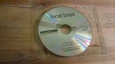 CD pop local Boys-local Boys (2 chanson) promo décodeur Disc only