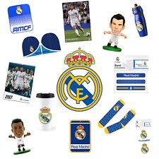 REAL MADRID OFFICIALLY LICENSED GIFT & APPAREL COLLECTION CHOOSE FROM 20+ ITEMS