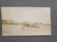 RPPC Sacramento River Two Boats During WWI