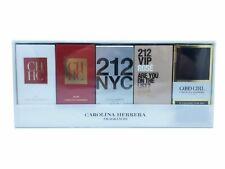 Carolina Herrera 5 Piece Mini Perfume Set for Women New & Sealed