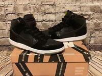 2013 Nike Dunk High Premium SB NECKFACE CHRONICLES 2 BLACK WHITE 313171-018 13