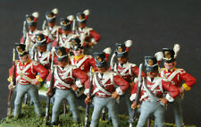 1/72 scale Superbly Painted 12 British Infantry Waterloo AIRFIX  Standing Based