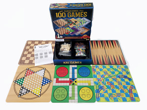 CLASSIC GAMES 100 Board Games All In One - 100 Different Games - Complete