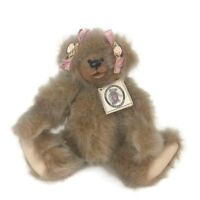 Kimbearly's Originals Artist Plush Teddy Bear Gabriella Resin Face Limited Ed 12