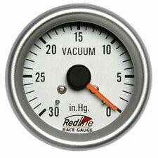 2 5/8 Vacuum Gauge with Line Kit 258-28 Redline