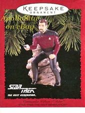 Star Trek 1996 COMMANDER RIKER Ornament ~ Hallmark