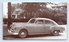 1949 PONTIAC STREAMLINER 4-Door Sedan Car Advertising Postcard
