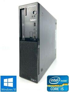 Lenovo Edge71 - 1578L3G - 500GB HDD, Intel Core i5-2400S, 8GB RAM - Win 10 Pro