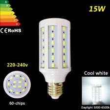 15w bulb Led e27 cool white floodlight 5730smd lamp corn chip energy saving 240V