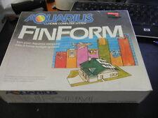 NOS Brand New Mattel Aquarius FinForm Cartridge