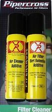 Pipercross Air Filter Cleaning Kit - Dirt Retention Oil & Cleaner Additive C9000