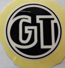 GT Decal Sticker White & Black Old Mid School BMX Park Street Bikes Bicycle