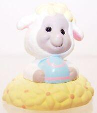 1994 Hallmark New Easter Lamb in Flowers Merry Miniature Qsm8132 Never Displayed