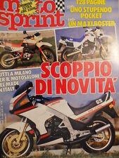 Motosprint 47 1985 Test Honda MTX 125 R - Gilera 200 RV - Suzuki 1100  [SC.31]