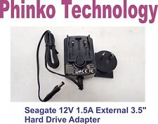 """Seagate 3.5"""" Hard Drive ADS-18D-12B 12018G Switching AC Adapter 18W 12V 1.5A"""