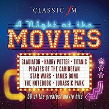 Classic FM a Night at The Movies Various Artists 0028948145478