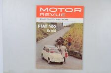 Motor Revue Europa Motor Ausgabe 36 Winterausgabe 1960