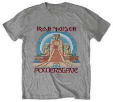 IRON MAIDEN Powerslave T-SHIRT (All Sizes) NEW OFFICIAL Eddie Aces High