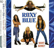 """ROXY BLUE """"Want Some?"""" CD album Japan w/obi Geffen Records – MVCG-79 / RARE CD"""