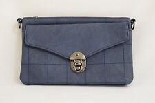Cross Body Shoulder Bag Satchel Large Purse Clutch Wallet HQ Faux Leather