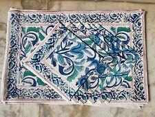 Set Of 6 Napkin 6 Mat Set Heavy Floral Design Table Place Mats Table Cloth Sale