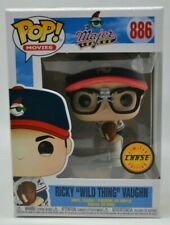 """Funko Pop MOVIES #886 MAJOR LEAGUE Ricky """"Wild Thing"""" Vaughn Chase Edition"""