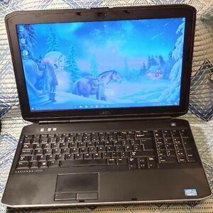 """BARGAIN Dell Latitude E5530 15.6"""" Laptop i3 2.2GHz 8GB 160GB Win10 Pro +MORE!"""