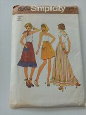 Simplicity Vintage Sewing Pattern - Skirt - Size 8-10 -1970's - VPS081-6974