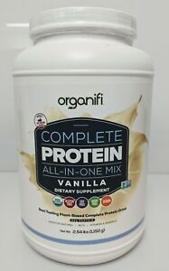 Complete Protein All In One Vegan Meal Replacement Shake, 30 servings Vanilla