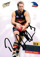 ✺Signed✺ 2013 ADELAIDE CROWS AFL Card BEN RUTTEN