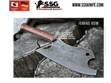 Custom Forged High Carbon Steel Full Tang hunting, survival knife Chopper 12 ""