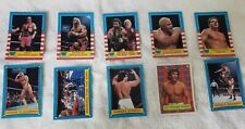 1987 Topps WF Wrestling Trading Cards Featuring Hulk Hogan- 10 Cards