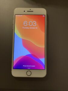 Apple iPhone 8 Plus - 64GB - Silver (Verizon) A1864 (CDMA + GSM)