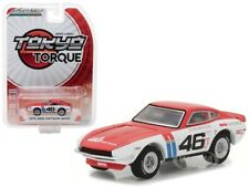 1970 DATSUN 240Z #46 (BRE) JOHN MORTON 1/64 DIECAST MODEL BY GREENLIGHT 29880 A