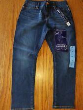 Nwt Womens Bandolino Smooth Operator Crop Denim Pants Jeans Seamless Yosemite 10