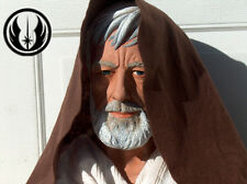 Star Wars OBI WAN KENOBI Life Size 1:1 Custom Painted Bust BLACK FRIDAY SALE