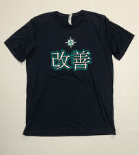 Seattle Mariners Team Issued Kaizen T-Shirt Size Large
