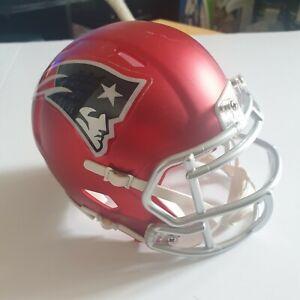 NEW ENGLAND PATRIOTS NFL Riddell SPEED Mini Football Helmet Red