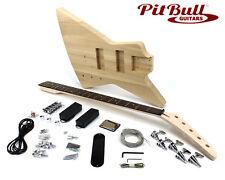 Pit Bull Guitars EXA-5 Electric 5-String Bass Guitar Kit - Ash Body