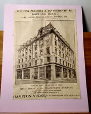 More details for london dorland house lower regent -street, to be let. newspaper clipping 1929.