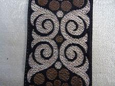 joli galon style art déco argent , vieil or et noir N°243