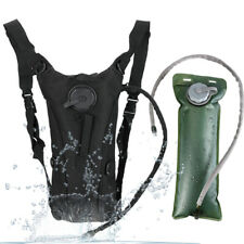 Hydration Pack + 3L Water Bladder Bag Camelbak Backpack Hiking Camping Running
