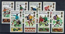 RWANDA 354 à 361 ** MNH 1970 COUPE DU MONDE DE FOOTBALL A MEXICO