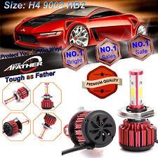 H4 Hb2 9003 400W 56000Lm Led Headlight 4-Side Kit High/Low Power Bulb 6000K 2017(Fits: Isuzu)