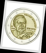2 EURO *** Allemagne 2018 Duitsland - Helmut Schmidt *** ADFGJ !!!