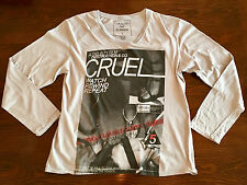 Casualties Of Summer V-Neck L/S Tee Mens Size XL NWT